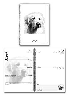 Golden Retriever Small 2017 Dog Show Diary with Championship Show Dates