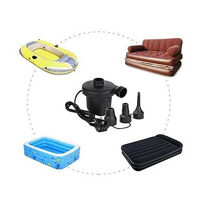 Camping Electric Air Pump Fast Inflation Inflatable Airbeds Paddling Pools Toys