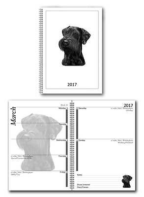 Schnauzer Small 2017 Dog Show Diary with Championship Show Dates