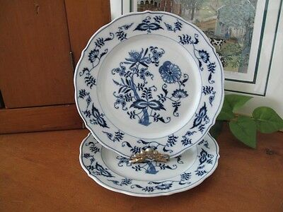 Blue Danube (Japan) Salad Plates ~ Two