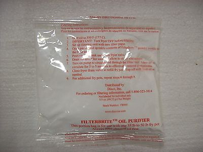FilterBrite Oil Purifier, 5 Ounce Portion Pack 60 per case