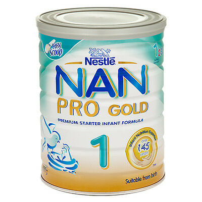 NEW Nestle Nan Pro 1 Gold Suitable from Birth - 800g