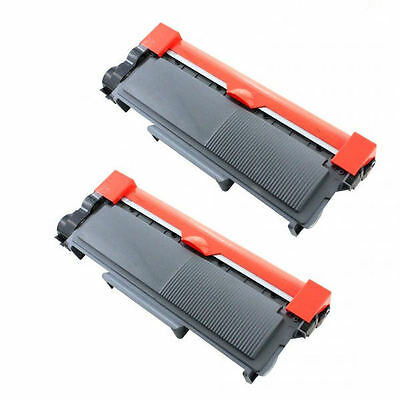 2Pk Toner Cartridge Tn-660 For Brother Dcp-L2520 Dcp-L2540 Hl-L2300 Hl-L2305