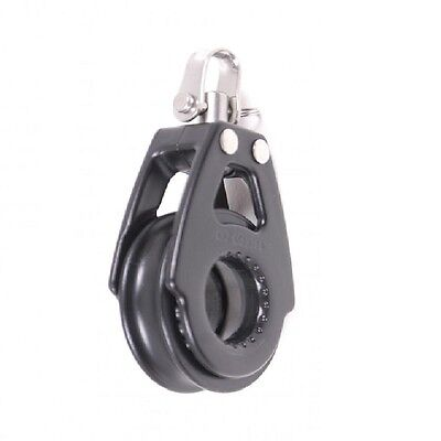 Pulley Block High Performance Single Swivel - 57mm