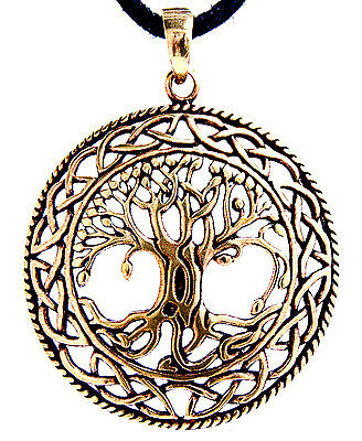 Large Tree Of Life Pendant Bronze Yggdrasil World Tree World-ash tree Viking