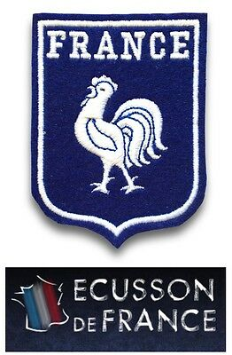 Ecusson France Coq Thermocollant  Football