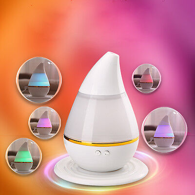 7 Color LED Ultrasonic Home Oil Aroma Humidifier Air Diffuser Ionizer Atomizer