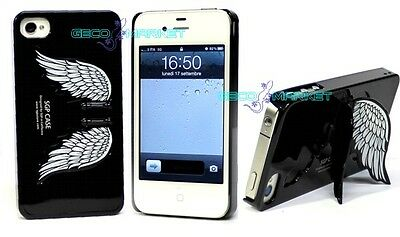 CUSTODIA RIGIDA NERA MOMO DESIGN PER IPHONE 4/4S cod