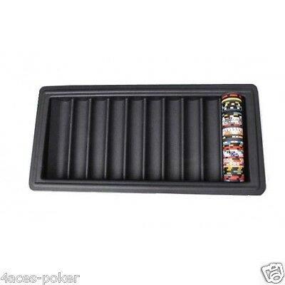 Poker Chiptray Plastik Kunststoff  Chiphalter Chip-Tray Pokertisch ABS Casino
