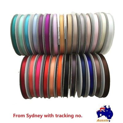 10Yrds High Quality Double(face) Satin Ribbon  for invitation&craft, bows(6mm)
