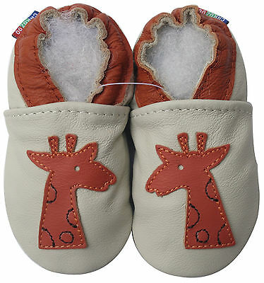 ✿ CHAUSSONS BEBE CUIR SOUPLE CAROZOO NEUF nombres ✿