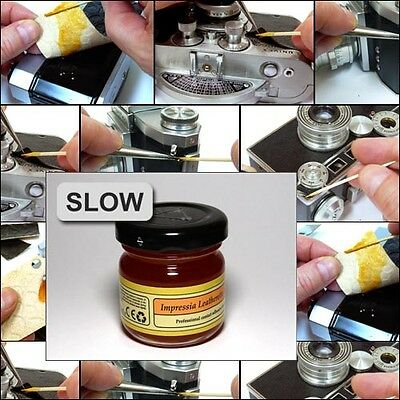 Impressia Leatherette Adhesive SLOW dedicated camera cover contact glue