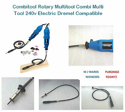 Combitool Rotary Multitool Combi Multi Tool 240v Electric Dremel Compatible