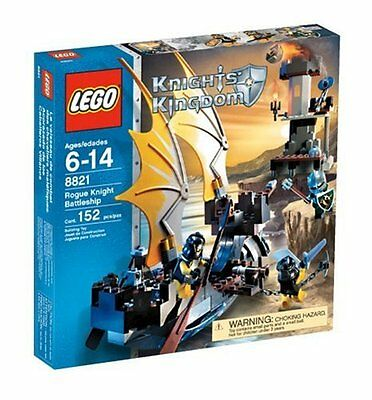 LEGO Knights Kingdom Rogue Knight Battleship 8821