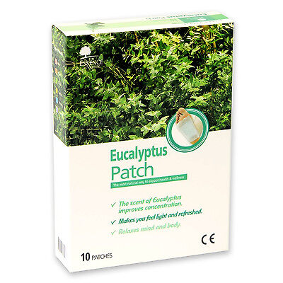 Korean High Quality Eucalyptus Sap Detox Cleansing Patch For Foot Body   10 pcs