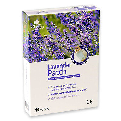 Korean High Quality Lavender Sap Detox Cleansing Patch For Foot Body  - 10 pcs