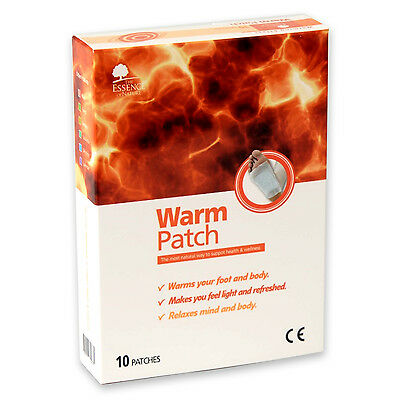 Korean High Quality Warm Sap Detox Cleansing Patch For Foot Body  - 10 pcs