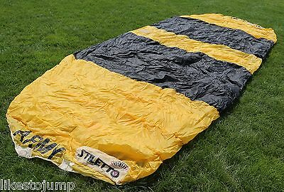 GOLDEN KNIGHTS PARACHUTE - 120 sq ft - awesome display item (Stiletto 120)