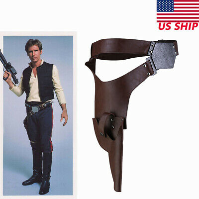 Han Solo Belt with Holster Star Wars The Force Awakens Costume Accessory Xcoser