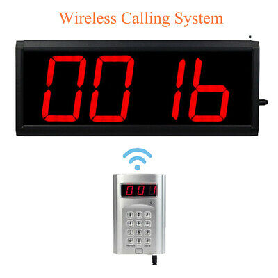Wireless Call Number System Restaurant Paging Queuing System ( transmitter+host)