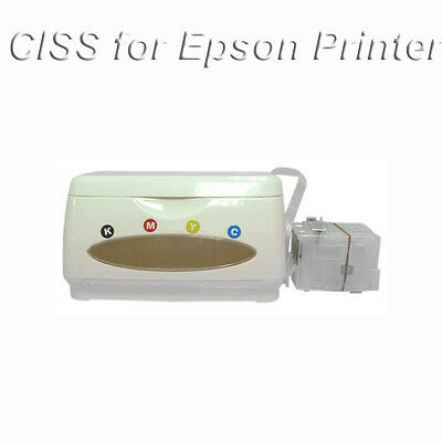 EMPTY CISS Continuous Ink Supply System For Epson Printer Sublimation Printing
