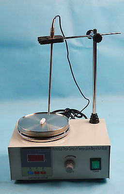 New 110V Magnetic Stirrer With Hot Plate Digital Heating Lab Mixer Lab Equipment