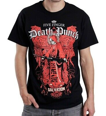 Music Tee - FIVE FINGER DEATH PUNCH - SALVATION