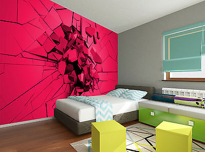 Cracked Surface Wall Mural Photo Wallpaper GIANT DECOR Paper Poster Free Paste