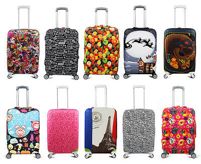 """Elastic 20"""" 24"""" 28"""" Suitcase Protector Travel Luggage Cover Bag Anti-scratch New"""