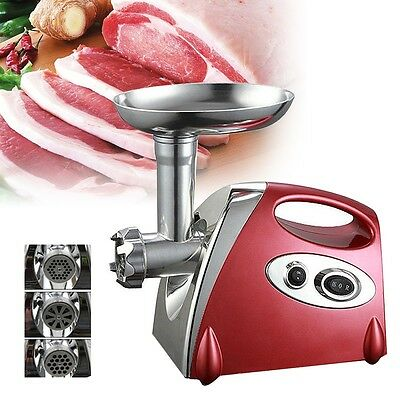 Stainless Steel Heavy duty Sausage/meat grinder & mincer maker new uk