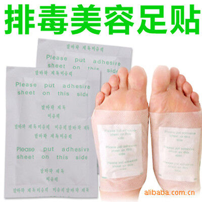 Detox Foot Pads Patch Detoxify Toxins Adhesive Slimming Keeping Fit Health Care