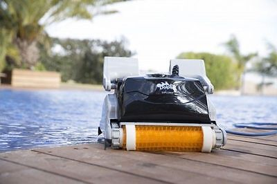 Dolphin Explorer Auto Pool Cleaner - Automatic Robotic Swimming Pool Cleaner