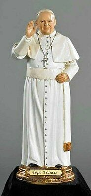 Pope Francis Figurine 8 inches tall (VS235) NEW IN BOX