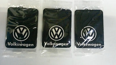 VW Polo,Fox,Golf,Passat,Toureg,Touran,Up ** Car Air Freshener **Deal 3 for £5.95