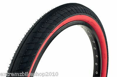 """DUO SVS 18/"""" X  2.10/"""" WHITE//BLACKWALL WIREBEAD BMX BICYCLE TIRE"""