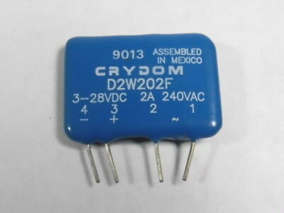 Crydom D2W202F Solid State Relay 2 A 3-32VDC
