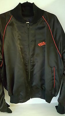 Men's Disney Promotional Dick Tracy Jacket, Size XL. Black with red trim