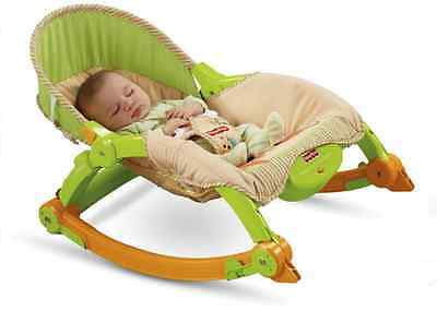 Fisher-Price Newborn Infant Toddler Play Portable Vibrating Chair Seat Rocker