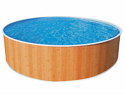 """Wood Effect Splasher Pool 10ft x 36"""" With In-Pool Pump"""