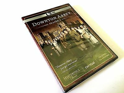Masterpiece Classic: Downton Abbey: Season 2 (Dvd, 2012, 3-Disc Set) New Sealed