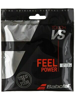 Babolat VS Touch 16 / 1.30mm Natural Tennis Half Set Tennis String