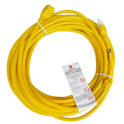 New Heavy Duty Welder Extension Cord with Outlet Plug 50ft Electrical 110V-220V