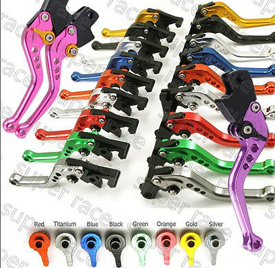 """5.7"""" or 6.89""""CNC Brake clutch levers For Kawasaki ZZR250 H1-4/H6-10 90-93 95-99"""