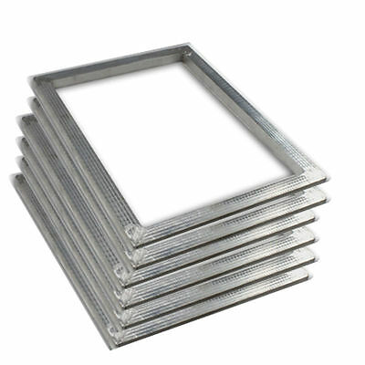 "6pc 16""x20"" Screen Printing Frames Silk Screen Blank Aluminum Frame with no mesh"