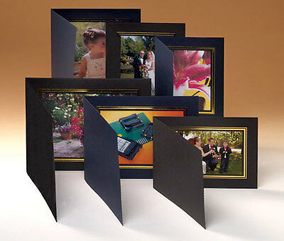 Kenro Photo Folder black 7x5 inches landscape (50)