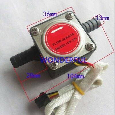 13mm Gear flow sensor Liquid Fuel Oil Flow Sensor Counter diesel gasoline
