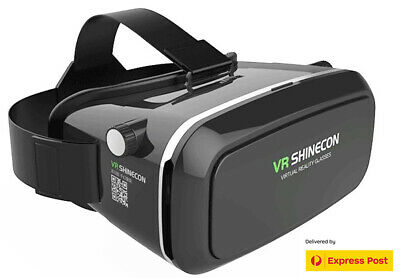 3D Virtual Reality VR SHINECON Glasses with Free Bluetooth controller
