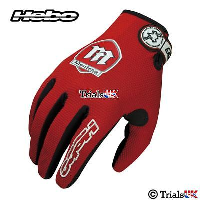 New Hebo Official Classic Montesa Team Gloves-Trials-Enduro-Mx-Offroad