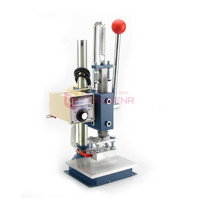 10*13CM PRO Leather LOGO Embossing Hot Foil Stamping Machine Marking Machine