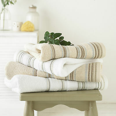 Great Knot-100% Egyptian Cotton 4Pcs Ribbed Towel Bale Pack 2Hand & 2Bath